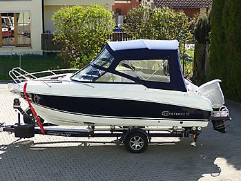 Verdeck Coaster 600 DC Scandica 20 Oceanmaster 600 Cabin Persenning 01