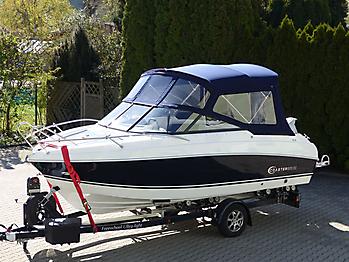 Verdeck Coaster 600 DC Scandica 20 Oceanmaster 600 Cabin Persenning 03