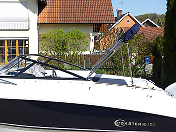 Verdeck Coaster 600 DC Scandica 20 Oceanmaster 600 Cabin Persenning 18