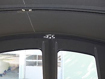 Verdeck Crownline 250 CR mit Edelstahlgestaenge Persenning 24