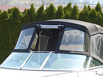 Verdeck Crownline 250 CR mit Edelstahlgestaenge Persenning 26