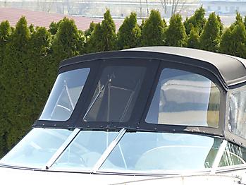 Verdeck Crownline 250 CR mit Edelstahlgestaenge Persenning 30