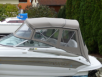 Camperverdeck Crownline 250 CR Sunbrella Plus Taupe 02