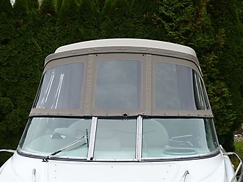 Camperverdeck Crownline 250 CR Sunbrella Plus Taupe 08