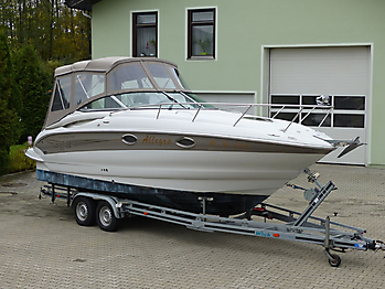 Camperverdeck Crownline 250 CR Sunbrella Plus Taupe 09