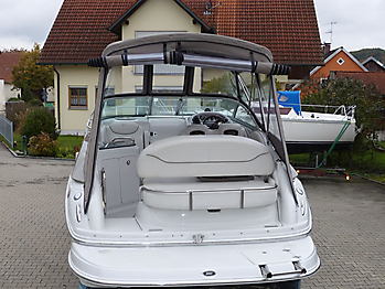 Camperverdeck Crownline 250 CR Sunbrella Plus Taupe 19