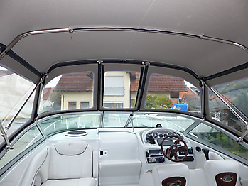 Camperverdeck Crownline 250 CR Sunbrella Plus Taupe 20
