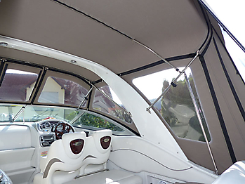 Verdeck Crownline 270 CR Bootsverdeck Persenning 17