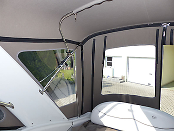 Verdeck Crownline 270 CR Bootsverdeck Persenning 20