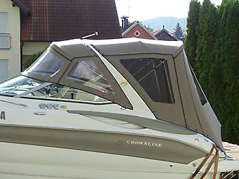 Verdeck Crownline 270 CR Bootsverdeck Persenning 22