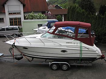 Verdeck Doral 250 SE Persenning 01
