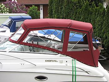 Verdeck Doral 250 SE Persenning 02
