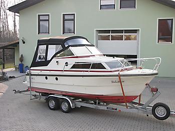 Verdeck Doriff 609 Bootsverdeck Persenning 08