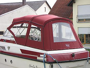 Verdeck Doriff 770 Persenning 08