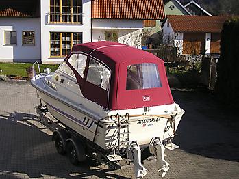 Verdeck Fjord 24 Persenning  03