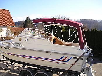 Verdeck Fjord 24 Persenning  07