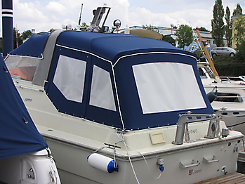 Verdeck Fjord 30 WE Persenning  06