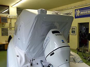Nautisches Zelt Formenti ZAR 59SL Verdeck  07