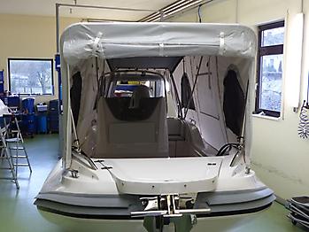 Nautisches Zelt Formenti ZAR 59SL Verdeck  09