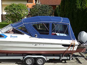 Verdeck Hohmann H9 Bootsverdeck Persenning 02