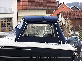Verdeck Jeanneau Cap Camarat 5.5 WA Persenning 04