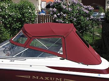 Verdeck Maxum 2300 SC Bootsverdeck Persenning 02