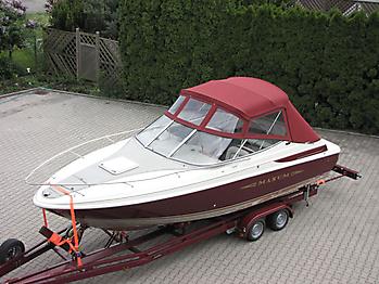 Verdeck Maxum 2300 SC Bootsverdeck Persenning 09