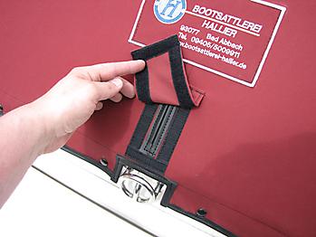 Verdeck Maxum 2300 SC Bootsverdeck Persenning 25