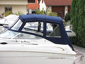 Verdeck Monterey 242 CR Bootsverdeck Persenning 02