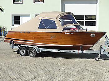 Verdeck Portier Holzboot Bootsverdeck 14