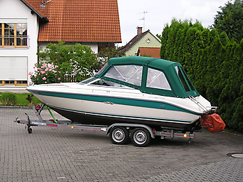 Verdeck Sea Ray 220 OV Persenning  03