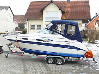 Verdeck Sea Ray 230 DA Bootsverdeck Persenning 03