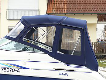 Verdeck Sea Ray 230 DA Bootsverdeck Persenning 04