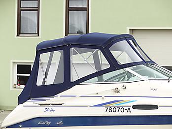Verdeck Sea Ray 230 DA Bootsverdeck Persenning 12