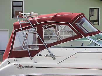 Verdeck Sea Ray 240 DA Persenning  12