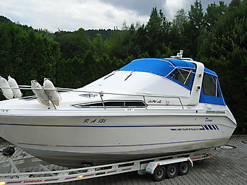 Verdeck Sea Ray 250 Sundancer Persenning  04