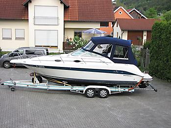 Verdeck Sea Ray 250 Sundancer Persenning 01