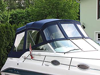 Verdeck Sea Ray 250 Sundancer Persenning 11