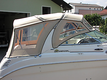 Verdeck Sea Ray 260 Sundancer Persenning  09