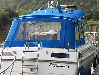 Verdeck Skilsoe 950 Persenning 07