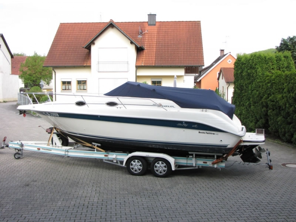 Persenning Sea Ray 250 Sundancer Bootspersenning